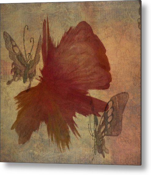 Flower Metal Print featuring the photograph Butterflower by Trish Tritz