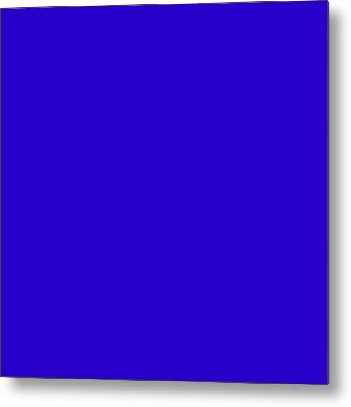 Abstract Metal Print featuring the digital art C.1.40-0-204.7x7 by Gareth Lewis