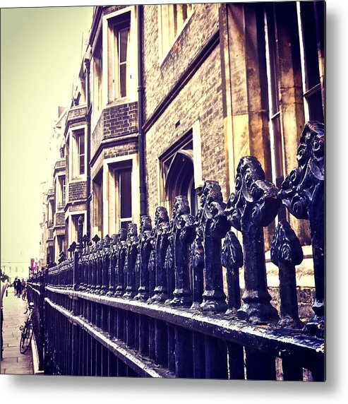 England Metal Print featuring the photograph Cambridge Lineup by Ana Dragutescu