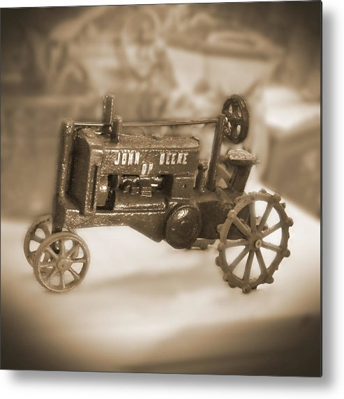 Cast Iron Toy Metal Print featuring the photograph Cast Iron Toys by Mike McGlothlen