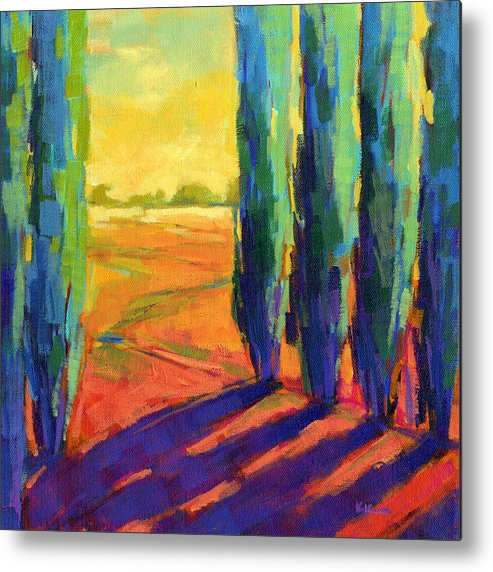 Landscape Metal Print featuring the painting Colors Of Summer 3 by Konnie Kim