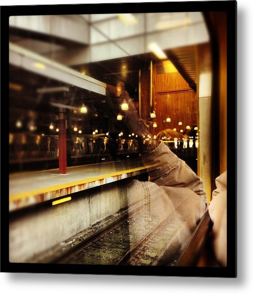 Metal Print featuring the photograph Commuter Life by Mark Valentine