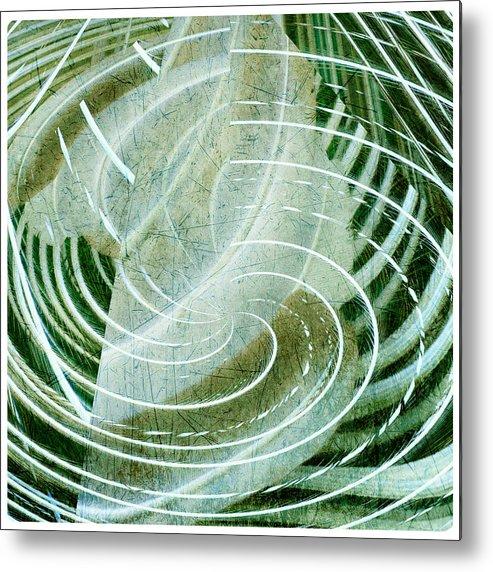 Energy Metal Print featuring the photograph Delightful Swirl by Davina Washington