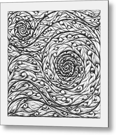Doodle Metal Print featuring the drawing Doodle 12 by Sherri Odegaarden