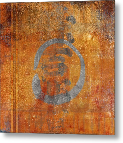 Enso Metal Print featuring the photograph Enso Circle by Carol Leigh