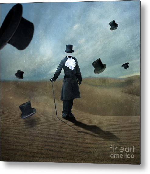 Death Valley Metal Print featuring the photograph Faceless by Juli Scalzi