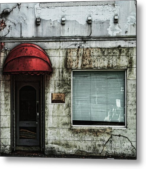 Facade Metal Print featuring the photograph Fading Facade by Andrew Paranavitana