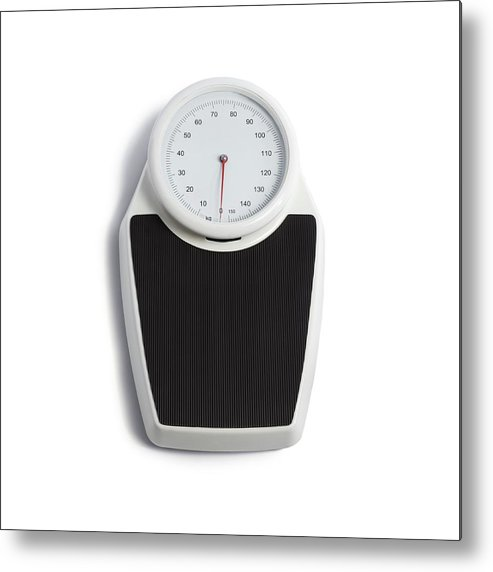 Scales Metal Print featuring the photograph Floor Scales by Science Photo Library