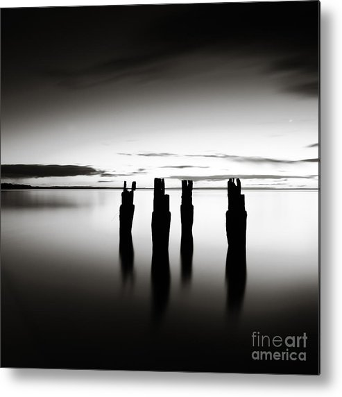 Landscape Metal Print featuring the photograph Four by Simone Byrne Photography
