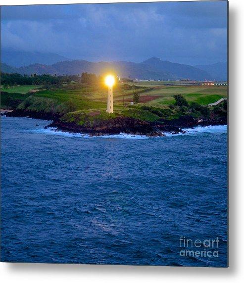 Kauai Metal Print featuring the photograph Guiding Light by Jason Waugh