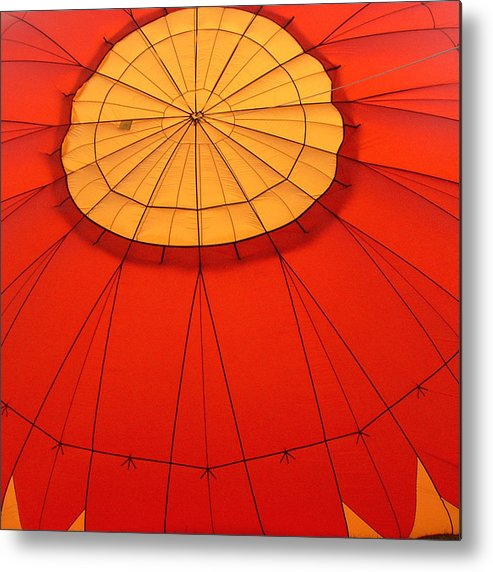 Reno Metal Print featuring the photograph Hot Air Balloon At Dawn by Art Block Collections