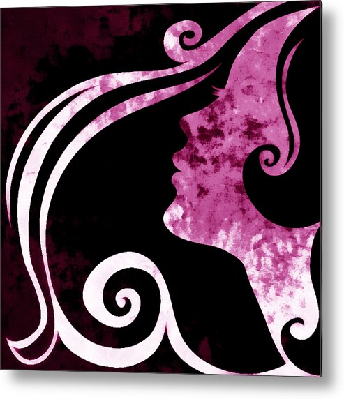 Wonder Metal Print featuring the mixed media I Will Wait For You 1 by Angelina Vick