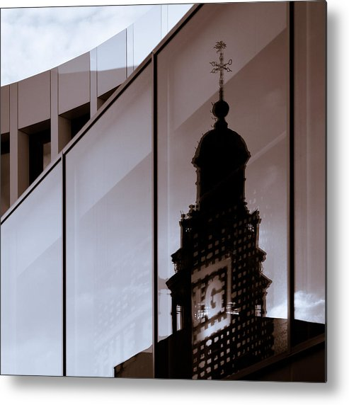 Maastricht Metal Print featuring the photograph Inner City by Dave Bowman