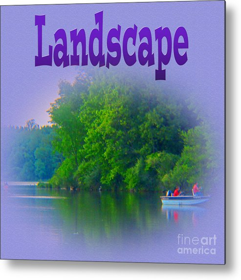 Landscape Metal Print featuring the photograph Landscape by Tina M Wenger
