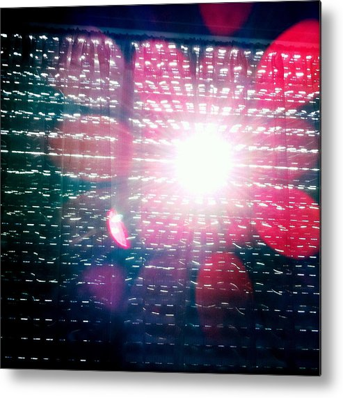 Light Metal Print featuring the photograph Light Beams by Matthias Hauser