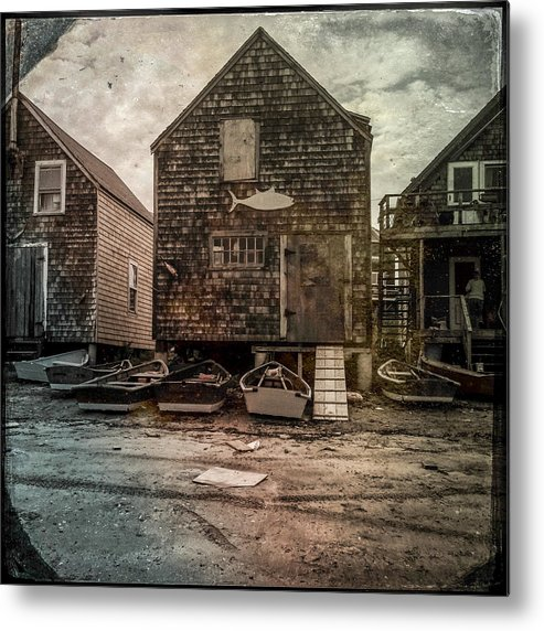 2013 Metal Print featuring the photograph Lobster Shack No. 1 by Fred LeBlanc