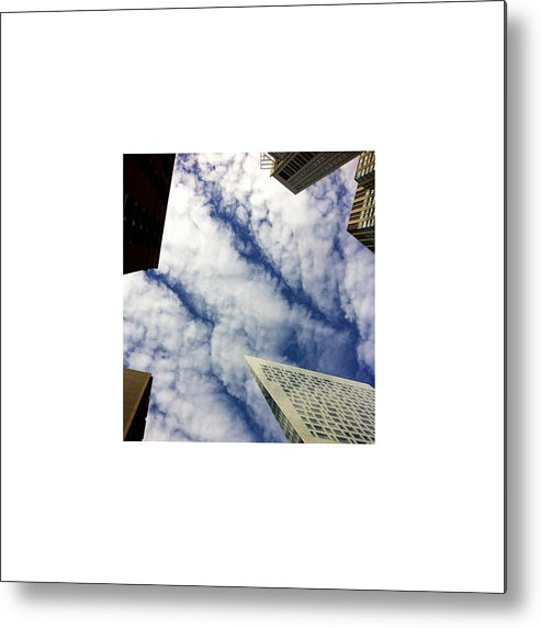 Sky Metal Print featuring the photograph Looking Up_09.29.12 by Paul Hasara