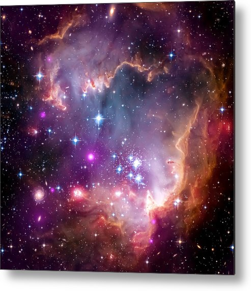 Universe Metal Print featuring the photograph Magellanic Cloud 3 by Jennifer Rondinelli Reilly - Fine Art Photography