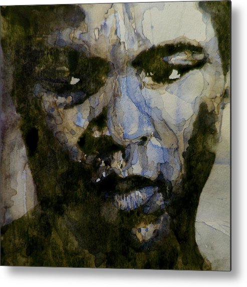 Muhammad Ali Metal Print featuring the painting Muhammad Ali A Change Is Gonna Come by Paul Lovering