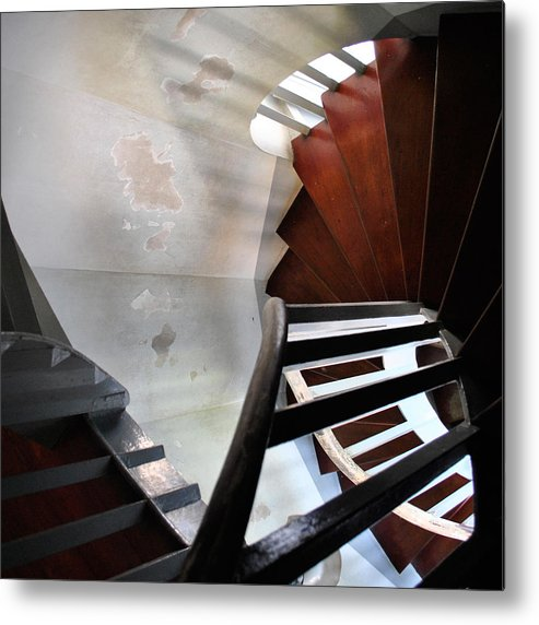 Architecture Metal Print featuring the photograph Palace Stairs by Rick Saint
