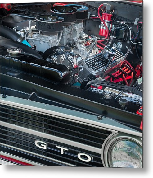 Gto Metal Print featuring the photograph Pontiac G T O by Bill Wakeley