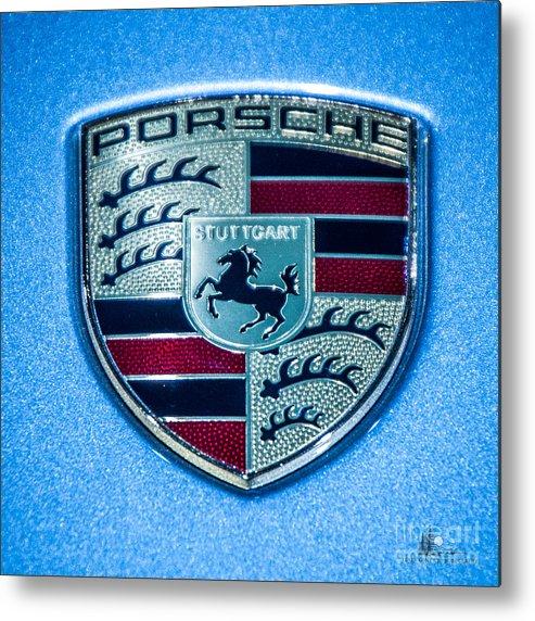 Porsche Metal Print featuring the photograph Porsche by Ronald Grogan