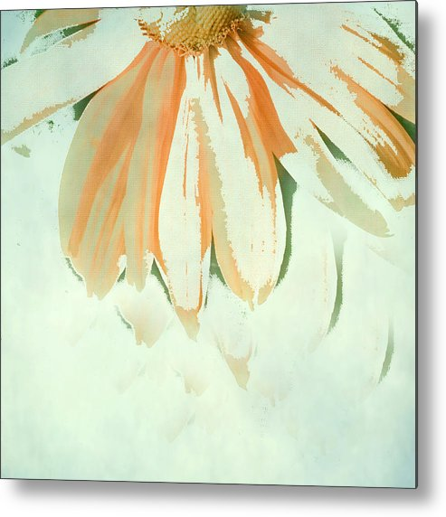 Floral Art Metal Print featuring the photograph Reconstructed Flower No.1 by Bonnie Bruno