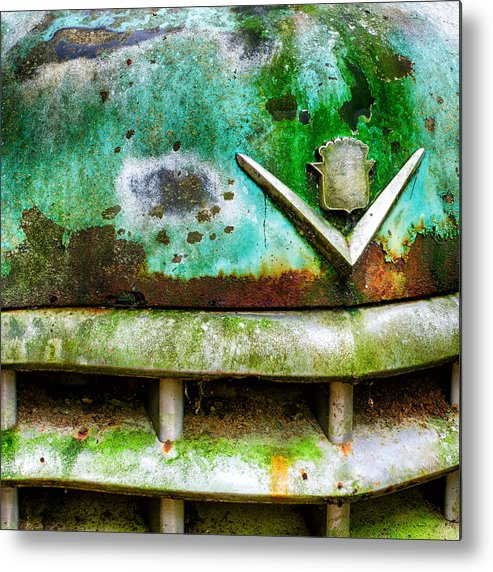 Car Metal Print featuring the photograph Rusty Caddy by Robert Hainer