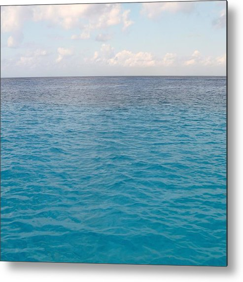 Ocean Metal Print featuring the photograph Sea Forever by Lauren Blazer