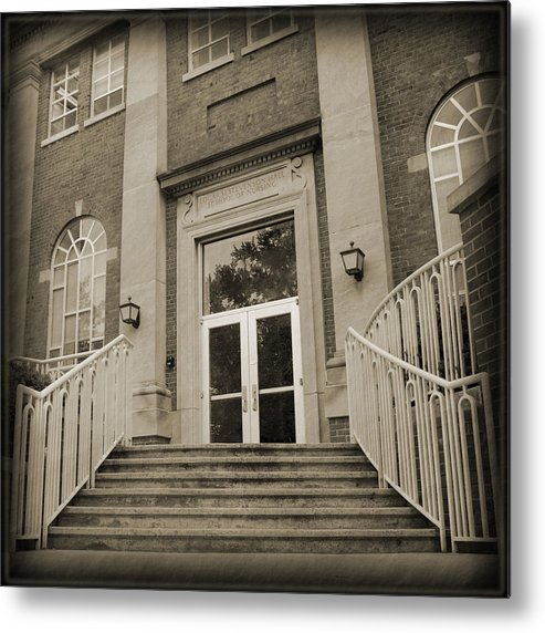 Metal Print featuring the photograph Stevenson Welcome by Abraham Adams Photography
