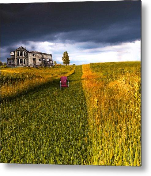 Ominous Metal Print featuring the photograph Storm Warning by Glenn Ferguson