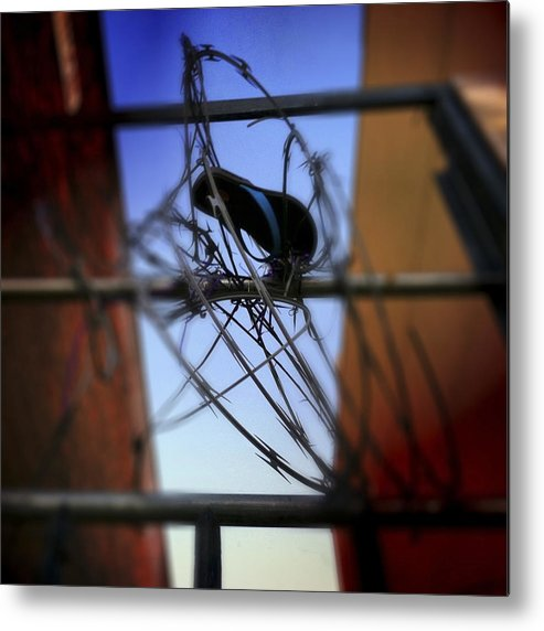 Flipflop Metal Print featuring the photograph Tangled by Elena Bouvier
