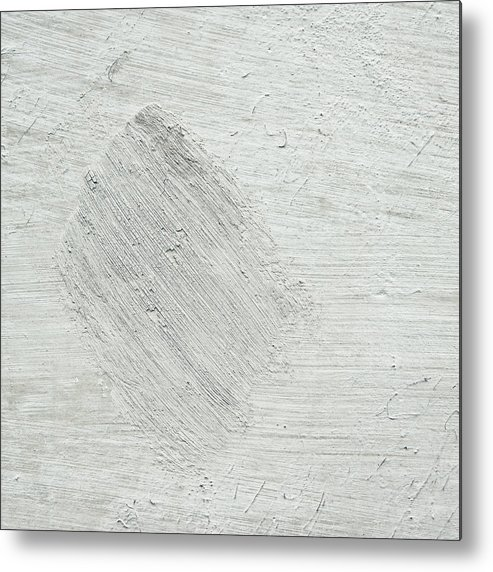 Abstract Metal Print featuring the photograph Textured Stone Background by Tom Gowanlock