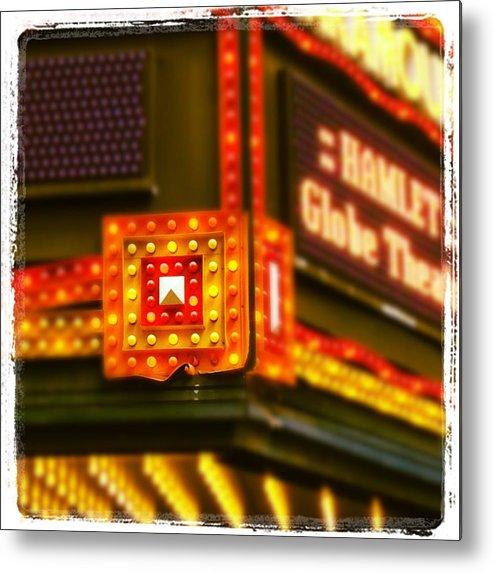 Metal Print featuring the photograph The Paramount by Mark Valentine