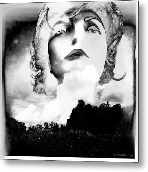 Photomontage Metal Print featuring the photograph Up With The Sun by Richard Smith