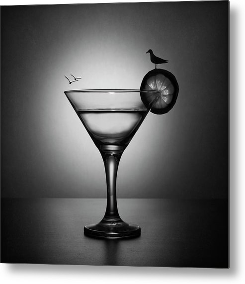 Drink Metal Print featuring the photograph Vacation Mood by Victoria Ivanova