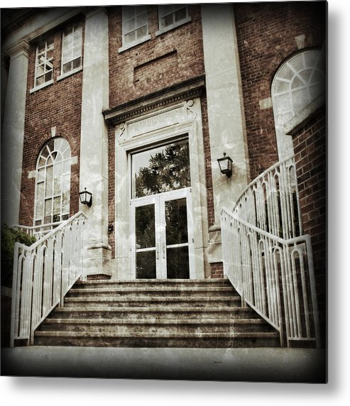 Metal Print featuring the photograph Vintage Stevenson Welcom by Abraham Adams Photography