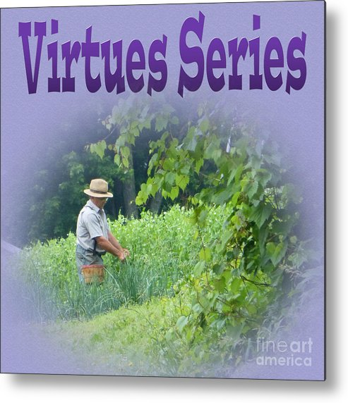 Virtues Metal Print featuring the photograph Virtues by Tina M Wenger