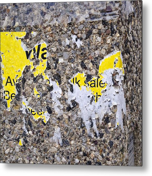 Signs Metal Print featuring the photograph Wa Lk Sale by David Stone