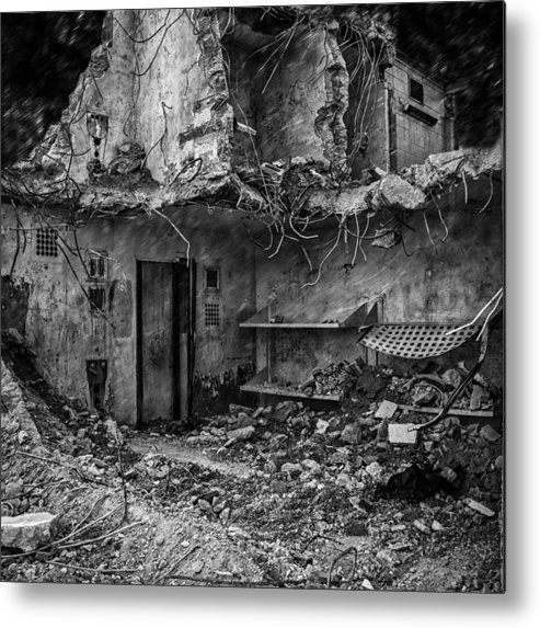 Jail Metal Print featuring the photograph What Was Once A Prison by Bob Orsillo
