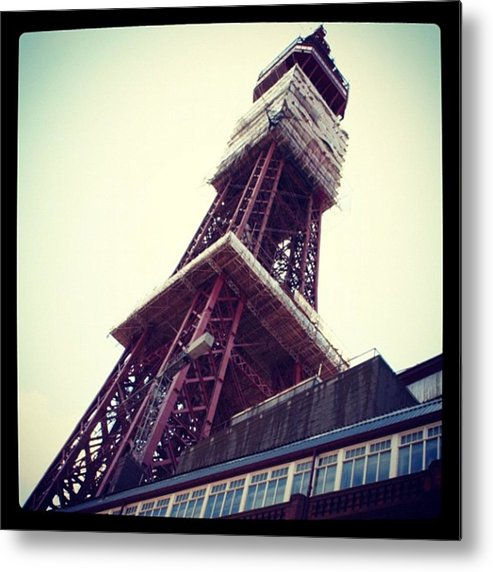 Metal Print featuring the photograph Blackpool Tower by Chris Jones