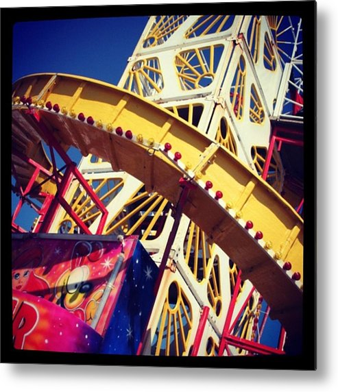 Metal Print featuring the photograph End Of The Pier Show by Chris Jones