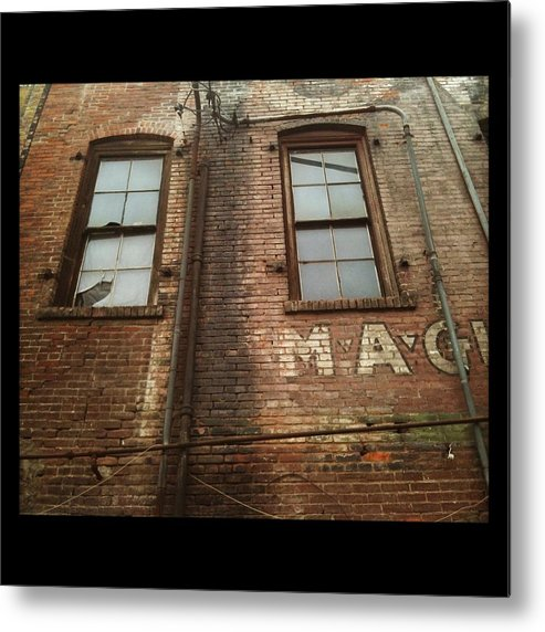 Metal Print featuring the photograph Weathered Wall by Aimee Reutercrona