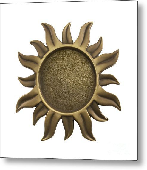 Sun Metal Print featuring the photograph Sun Star by Blink Images