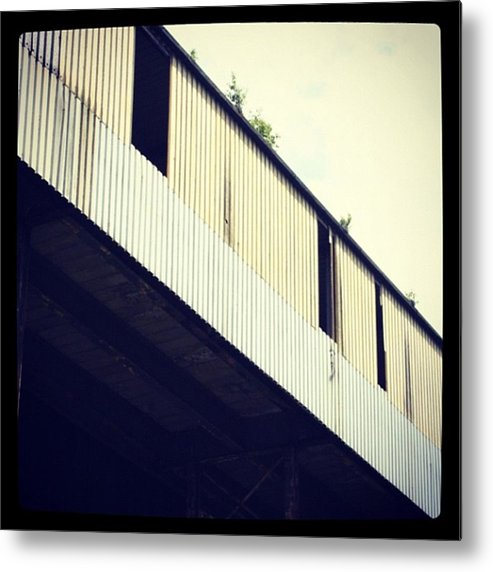 Metal Print featuring the photograph Abandoned Warehouse by Chris Jones
