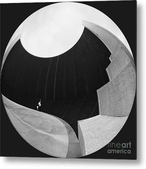 Beauty Of Lines Metal Print featuring the photograph About The Beauty Of Lines by Michael Burlak