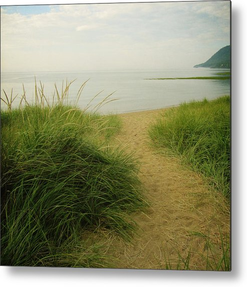Square Metal Print featuring the photograph Baie-saint-paul by Francois Dion