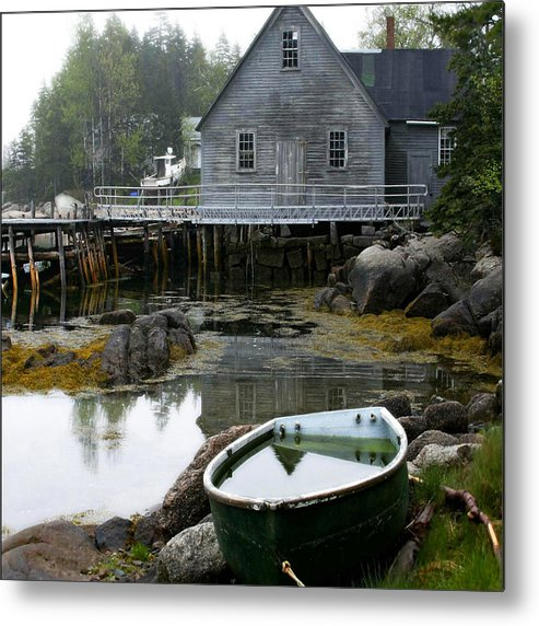 Maine Metal Print featuring the photograph Better Days by Don Powers