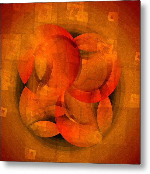 Fractal Metal Print featuring the digital art C Concept One by Richard Ortolano