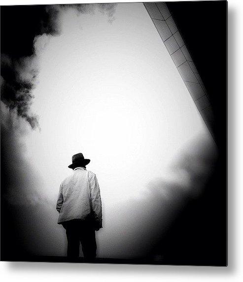 Igersams Metal Print featuring the photograph Cloud Cowboy - Concrete Jungle by Robbert Ter Weijden